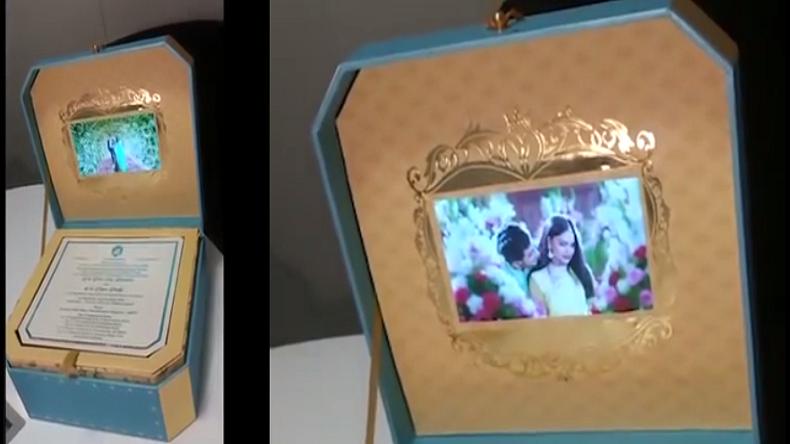 Janardhan reddy daughter wedding invitation