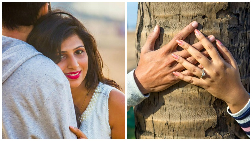 prewedding shoot at Gorai Beach by Naresh Das Photography