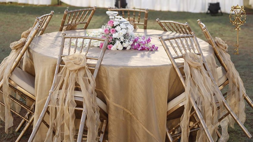 beautiful floral decor for wedding planned by Xenia Hospitality solutions LLP