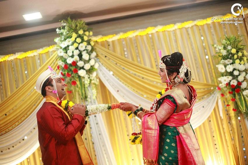 classic Marathi real wedding