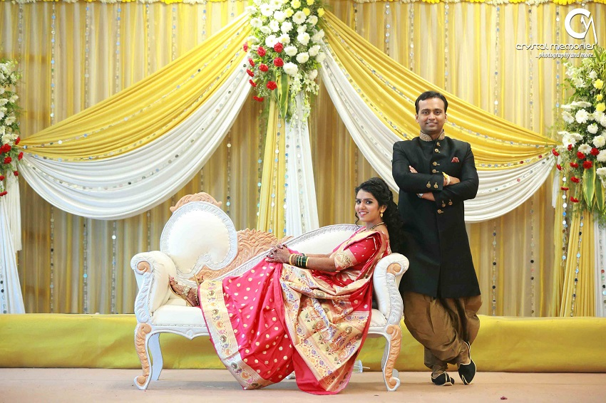 Crystal Memories Photography-classic Marathi real wedding