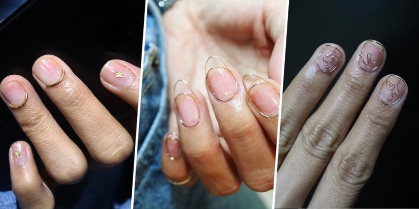 wire nail trend