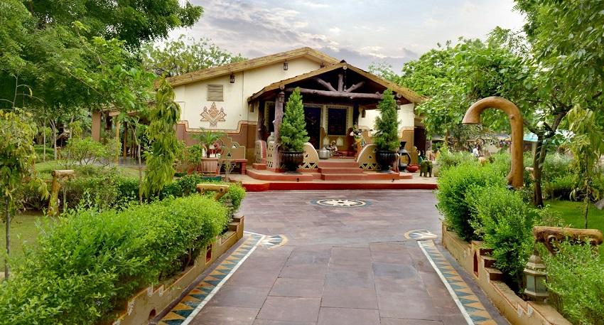 Chokhi Dhani wedding venue walkthrough
