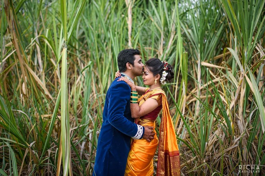 marathi wedding saris rituals Aniket Kanade wedding post wedding photography