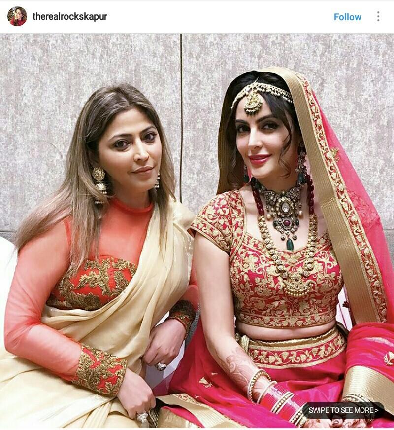 Mandana karimi wedding