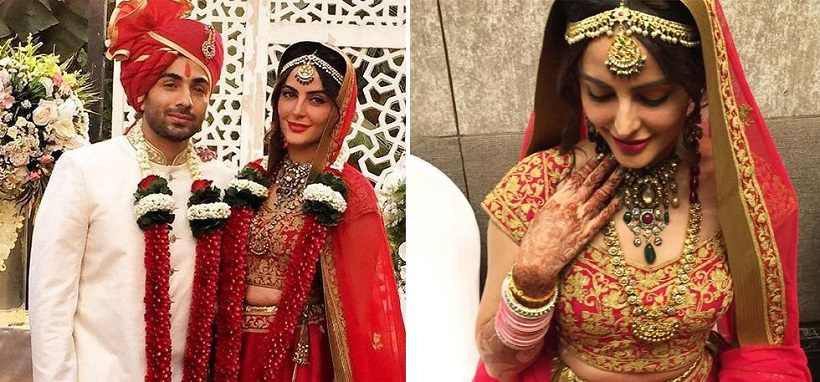 mandana karimi wedding