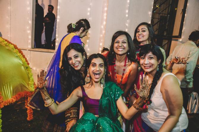rishaad mody priyanka kochhar mehendi ceremony