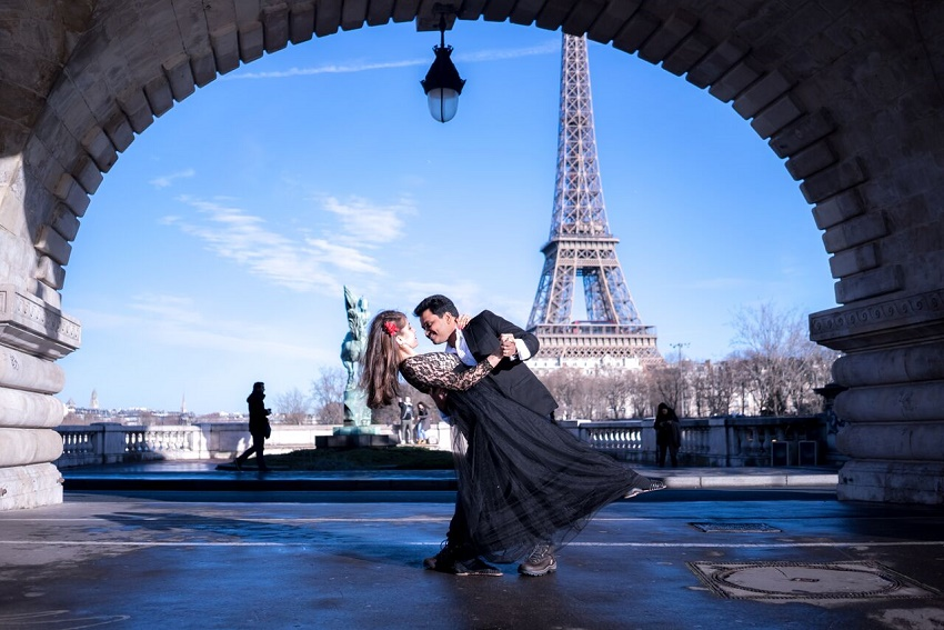 Paris Honeymoon shoot