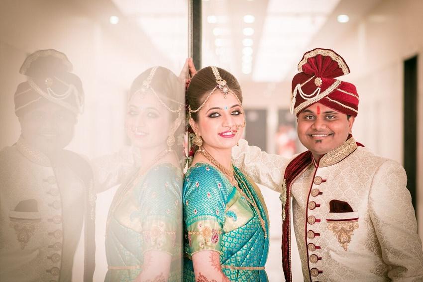 gorgeous Marathi bride-Marathi wedding photography by Crimson wedding photography Pune