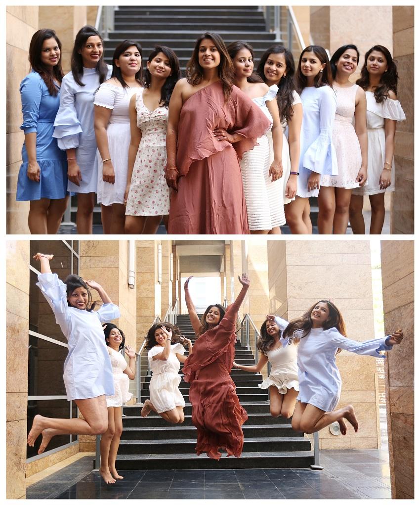 pre wedding pyjama photoshoot at Grand Hyatt Mumbai