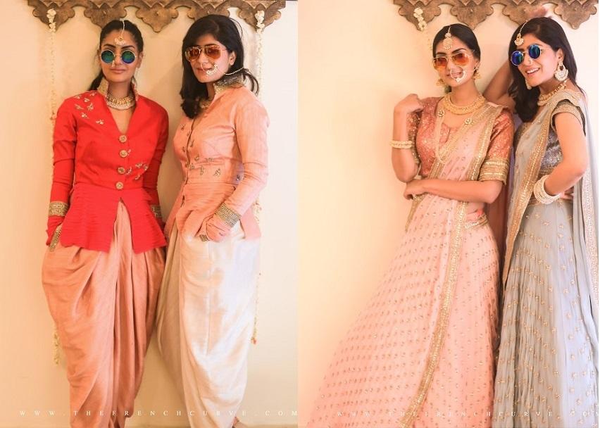 Top bridal designer Anjali Sharma of French Curve