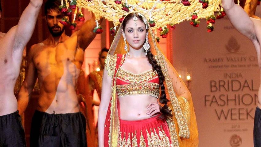 Aditi Rao Hydari in bridal wear