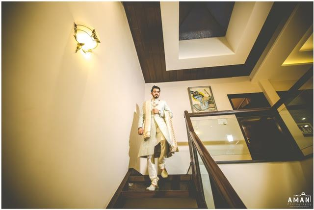 Indian groom attire