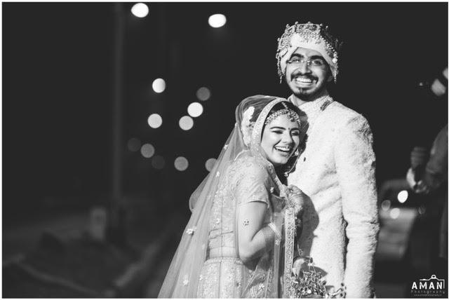 black and white photography real wedding Amritsar Aman Photography