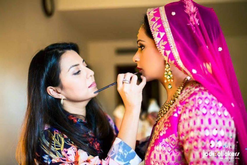 Ayesha Seth studio top makeup artist