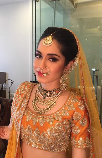 top bridal makeup artist Ayesha Seth studio