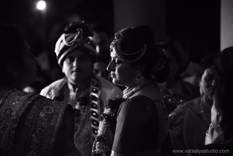 black and white photo real wedding