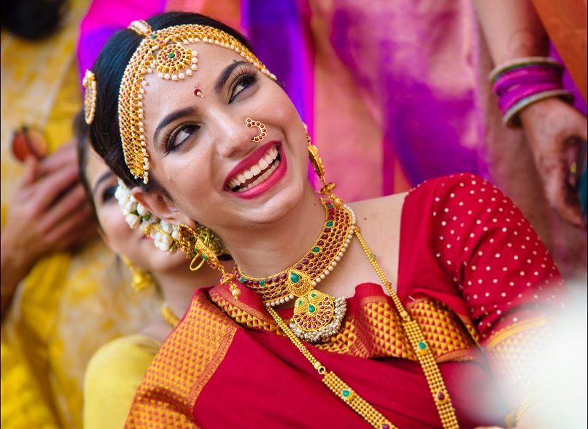 bridal makeup-Indian wedding-Goa destination wedding