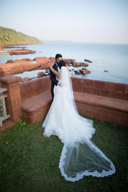 beautiful Christian wedding at Stone Water Eco Resort Goa