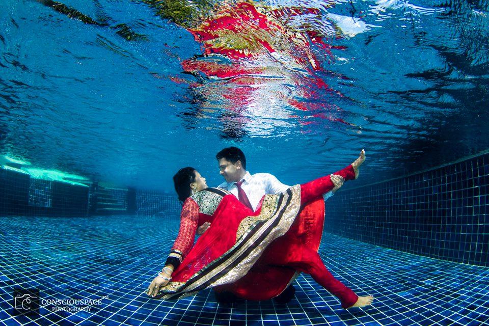 Underwater Post Wedding Shoot In Thailand By Consciouspace India S Wedding Blog