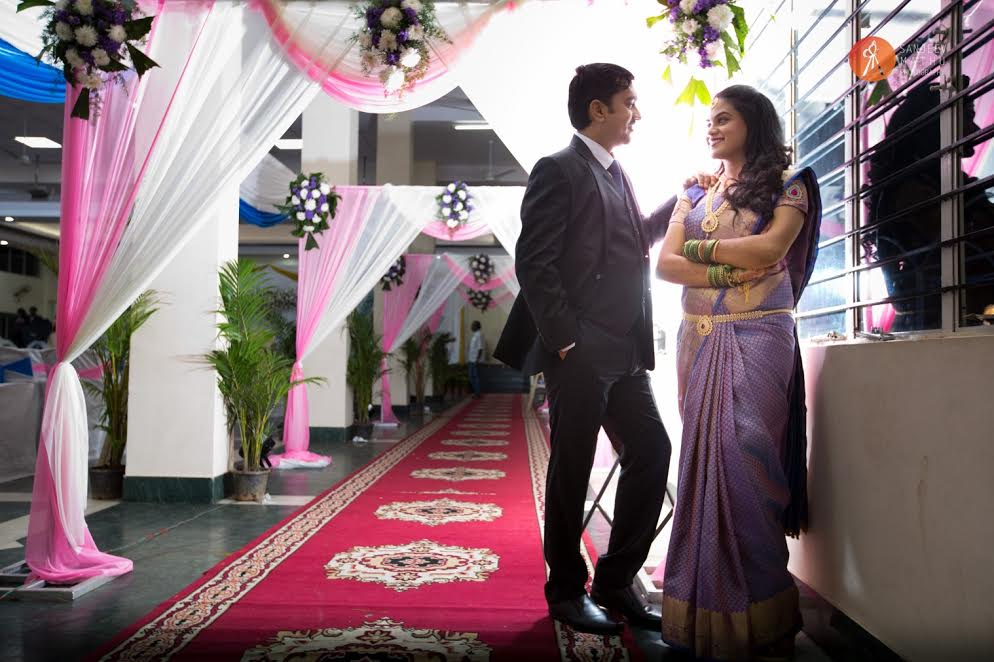 beautiful couple photography bride and groom real wedding by Sanjeev Mathu photography
