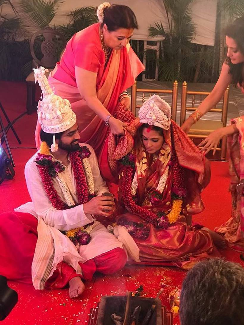 riya sen wedding