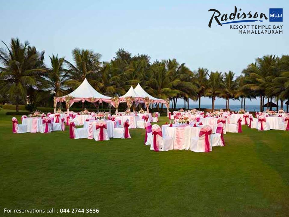 radisson blu temple bay resort for Indian destination beach weddings