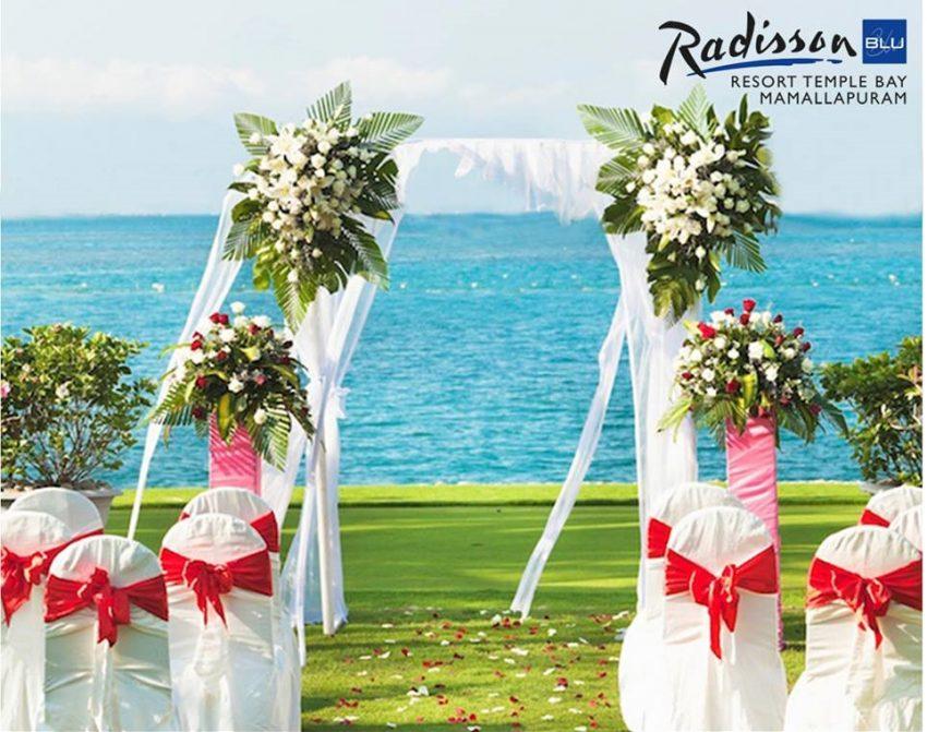 radisson blu temple bay resort for Indian destination beach weddings