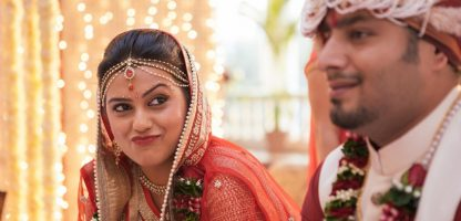 Indian bride and groom Nivedita Ghosh Photography real wedding at Club Millennium Juhu