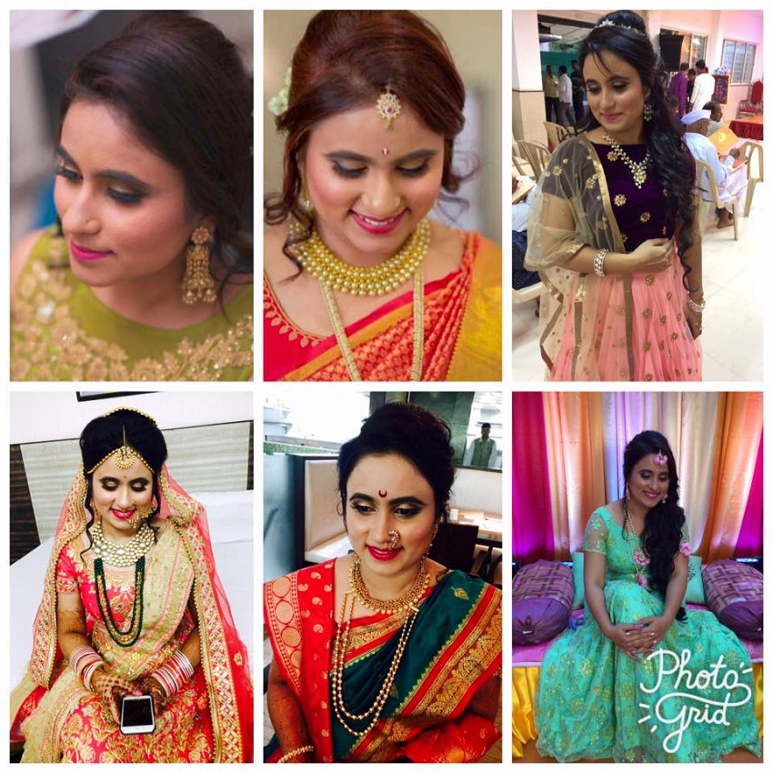 Yashika Chowdhary of Yashika's artistry top makeup artist in Pune