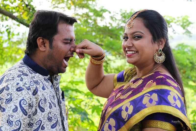 stylish prewedding shoot by Panache photography