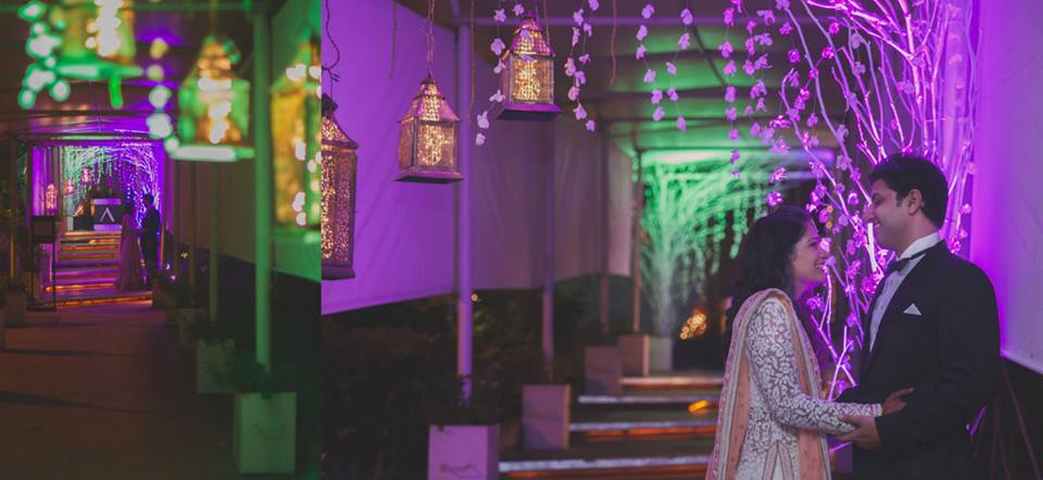top indian wedding themes-violet is color of 2018