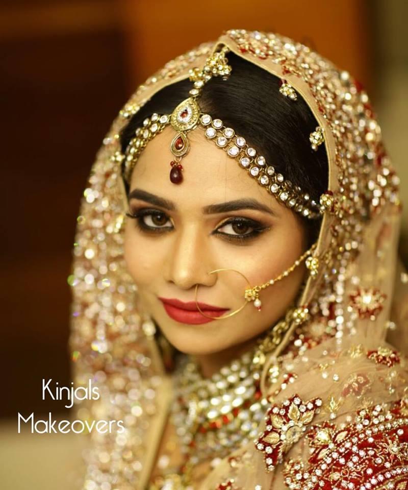 bridal makeup by Kinjals Makeovers