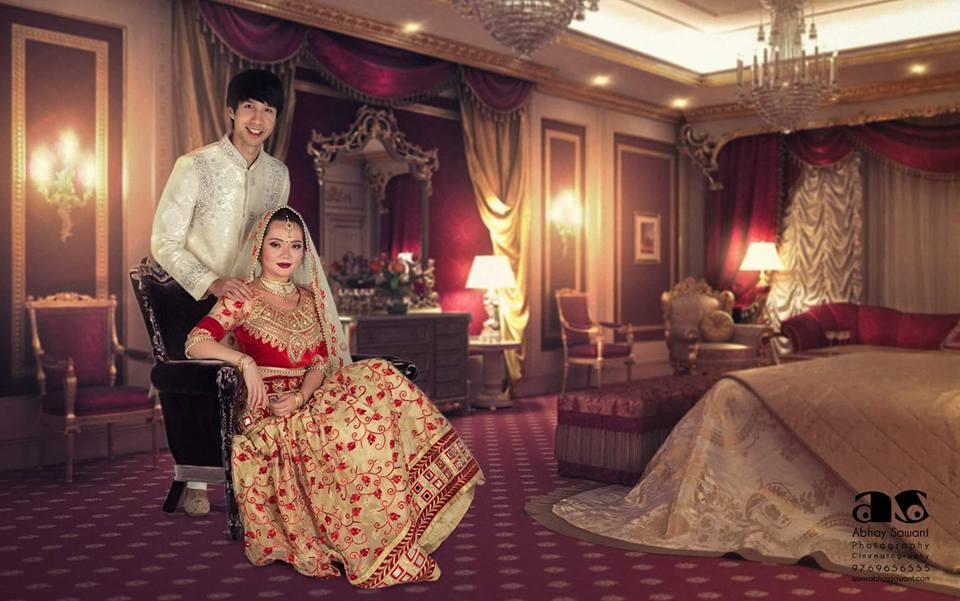 royal rajasthani wedding theme-abhay sawant photography