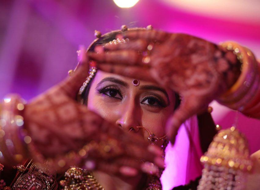 real wedding by Makker studio and Nainy studio Agra wedding photography