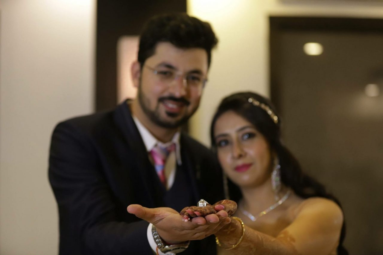 engagement ceremony Lucknow real wedding by Makker studio and Nainy studio Agra wedding photography