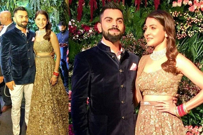 celebs at the Virushka reception in Mumbai