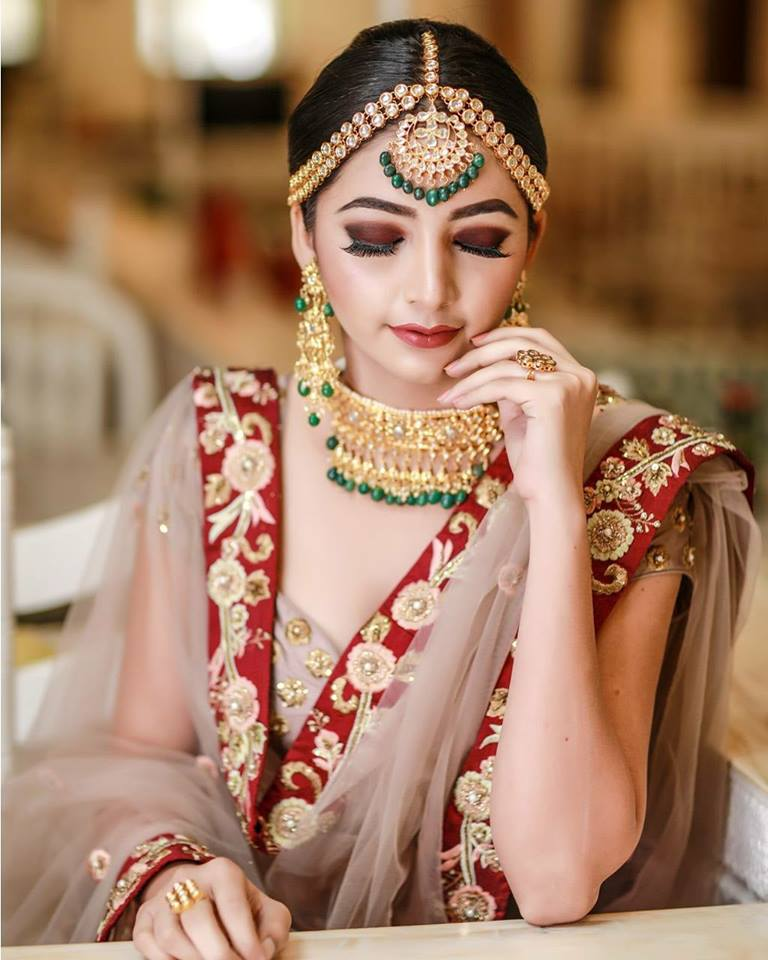 makeup and skin care for Indian brides
