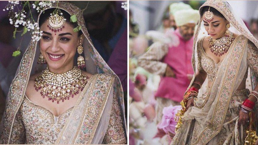 amrita puri wedding lehenga