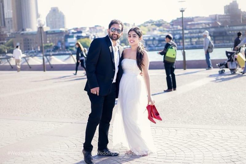 Indian couple prewedding shoot in Australia