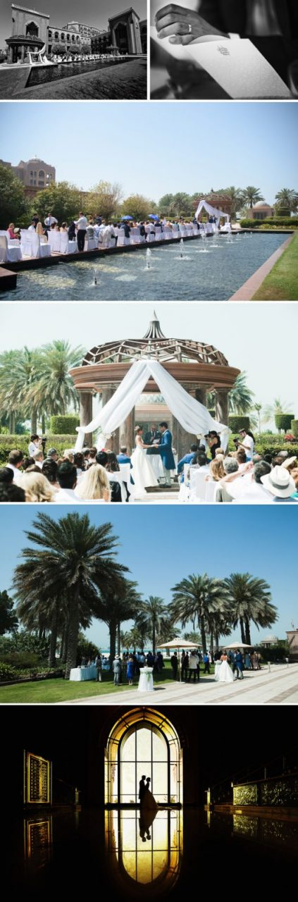 Emirates Palace Hotel, Abu Dhabi wedding
