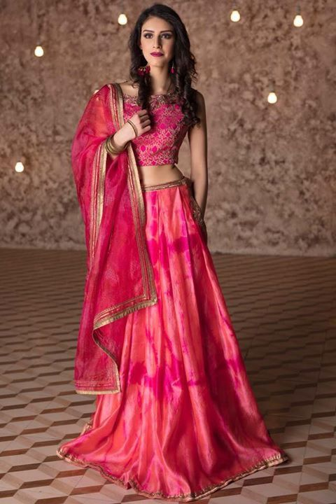 Indian wedding dress trends for 2018