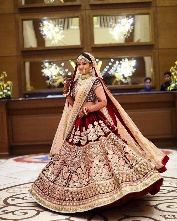 classic lehenga style for 2018 weddings
