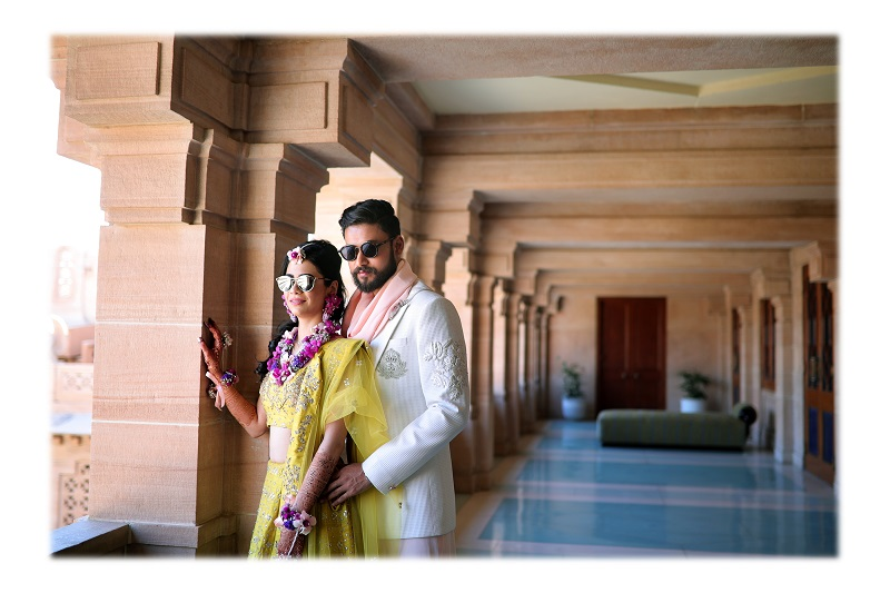 ram bherwani wedding photography beautiful couple Umaid Palace real wedding