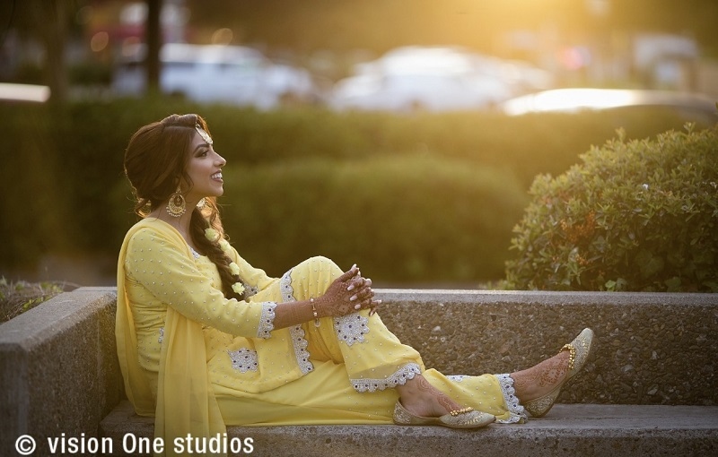 beautiful Sikh wedding by Vision One Studios