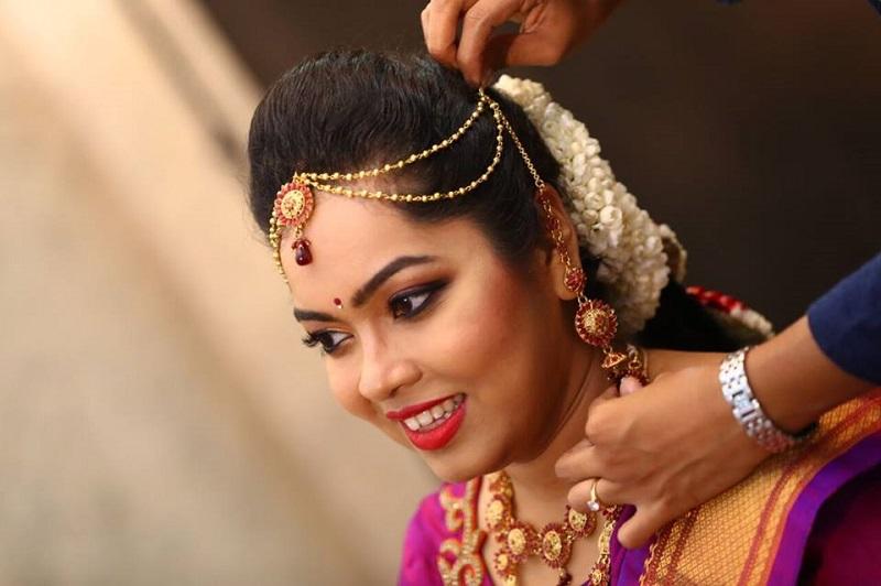 Bangalore makeup artist Shwetha Raju