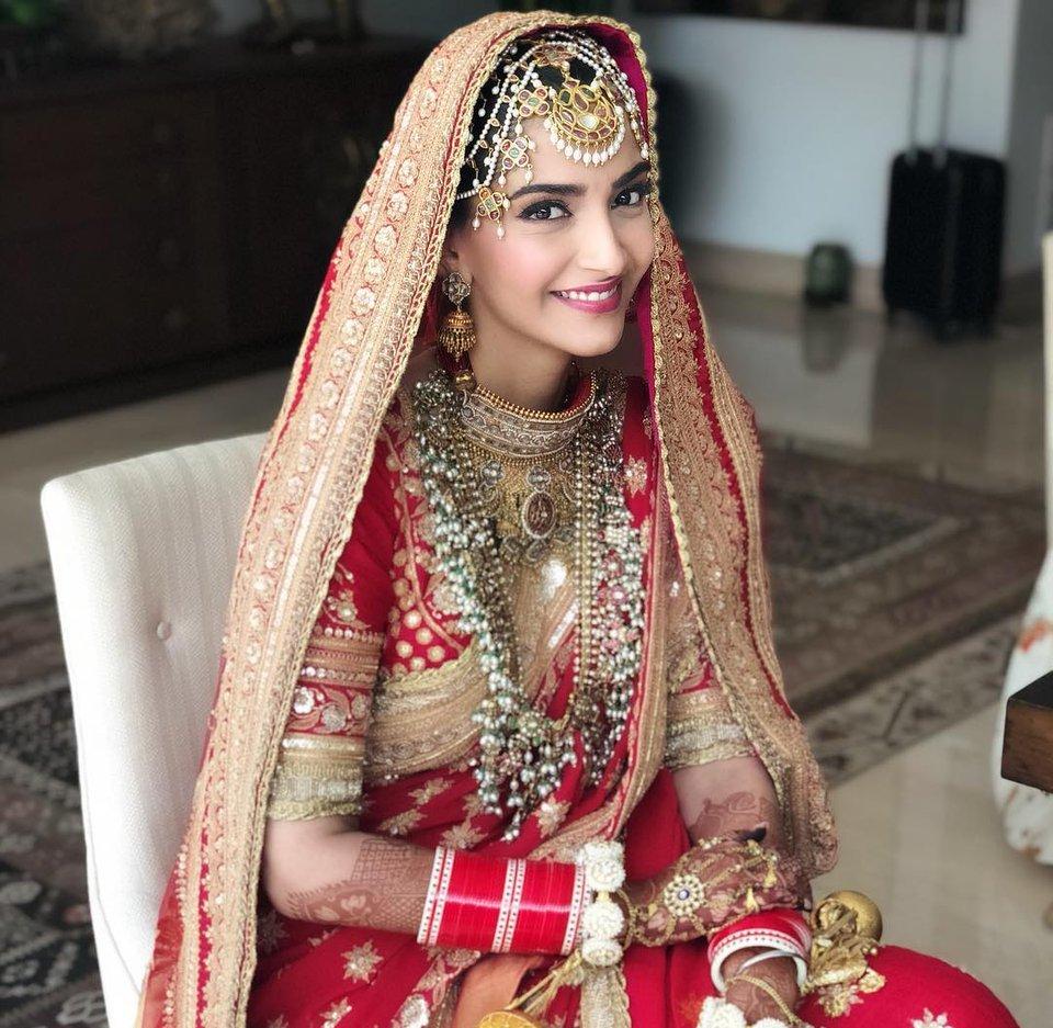 Sonam Kapoor Wedding Pics!