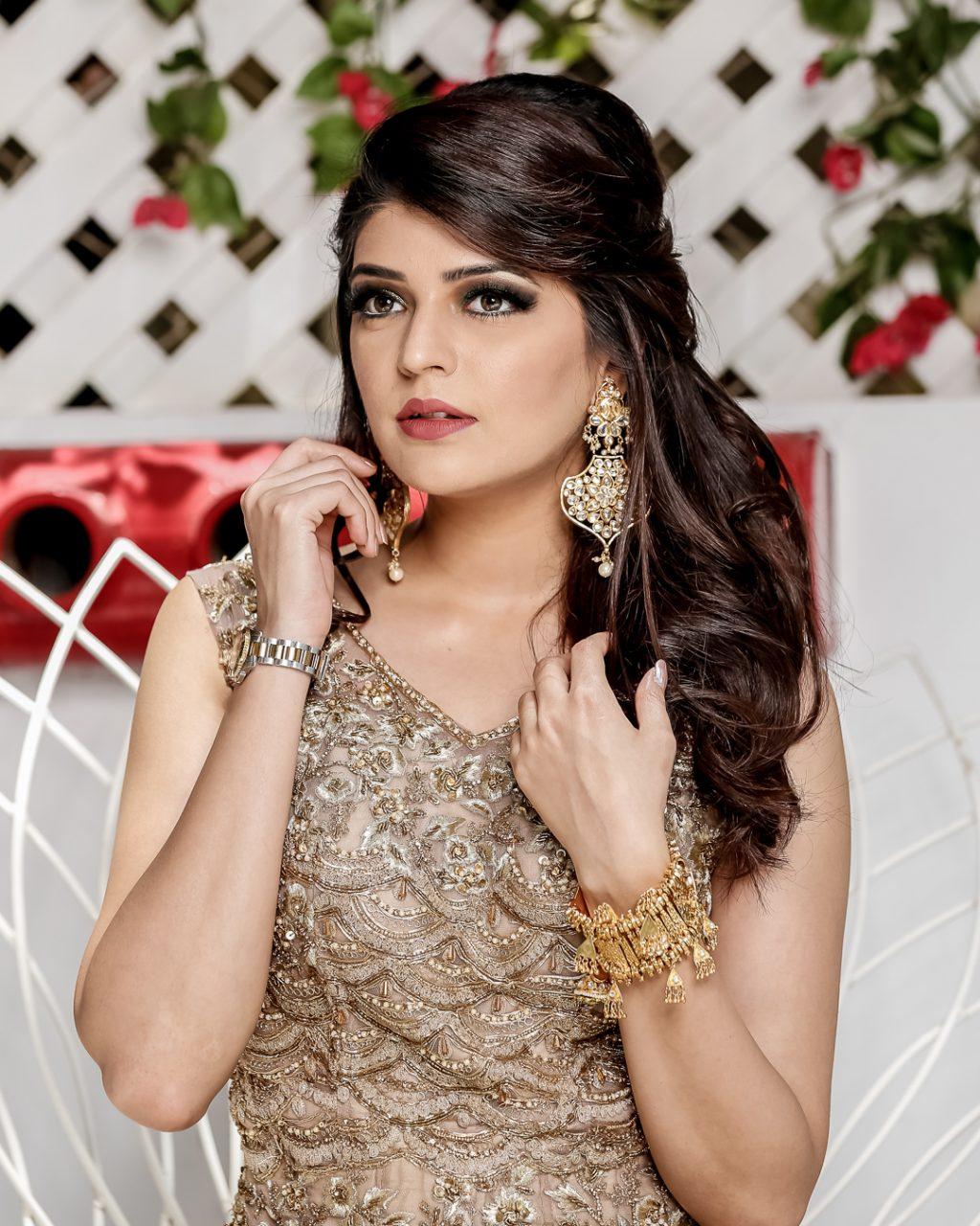 Sabah Malgi makeup shoot