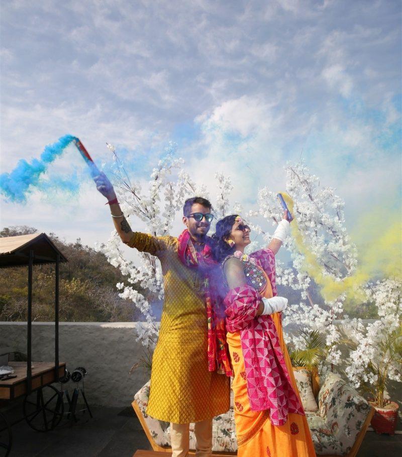Real Weddings Blog: Real Wedding: SHABH Wedding! Shaina Weds Bhanu At The