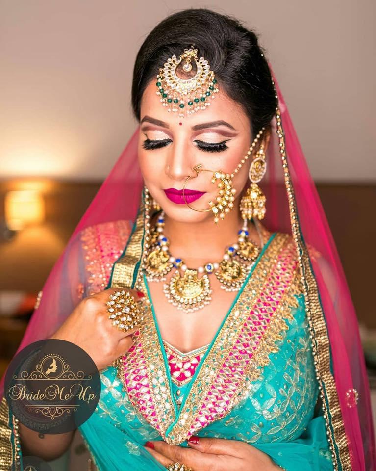 bridal makeup by BrideMeUp Mumbai